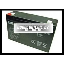 BL6120 12.0Ah 72.0Wh Pb 6.0V 94x100x151x50mm