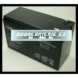 BL1272 7.2Ah 86.4Wh Pb 12.0V 151x65x94x100mm