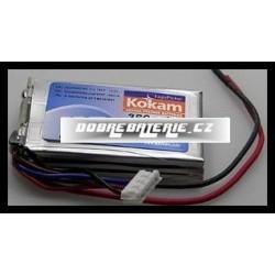 3/360HD Kokam 360mAh Li-Polymer 11,1V 20C
