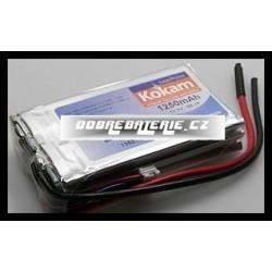 3/1250H Kokam 1250mAh 13.9Wh Li-Polymer 11.1V 15C