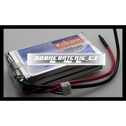 3/1500HD Kokam 1500mAh Li-Polymer 11.1V 10C