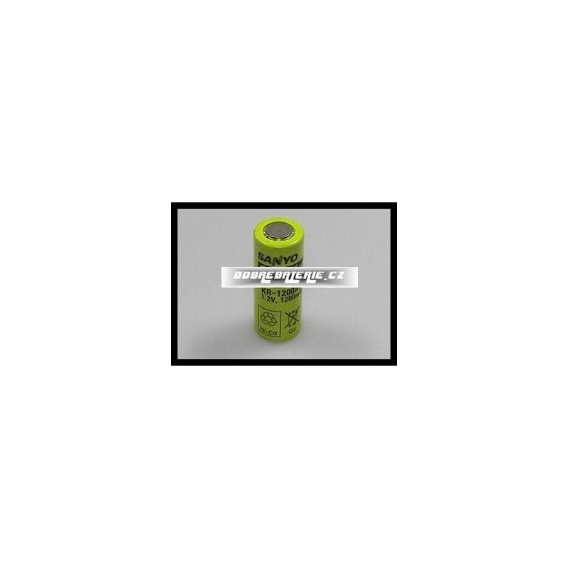KR-1200AUL Sanyo 1200mAh NiCd 1,2V 4/5A