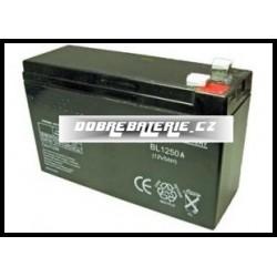 BL1250A 5.0Ah 60.0Wh Pb 12.0V 151x51x94x100mm