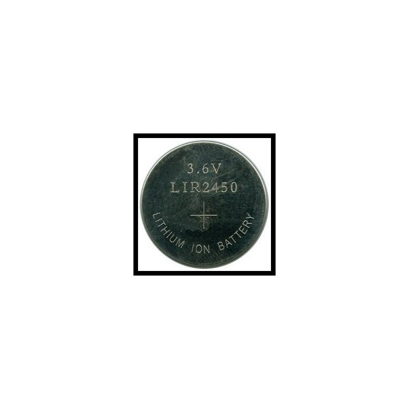 LIR2450 120mAh Li-Ion 3,7V