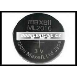 ml2016 25mah 3.0V (cena za 1 ks)