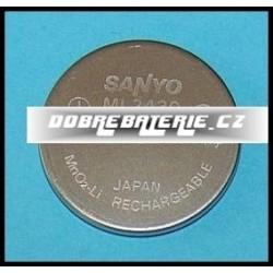 ml2430 100mah 3.0V (cena za 1 ks)