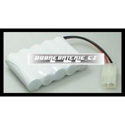 6.0V 600mAh 3.6Wh NiMH BRC002