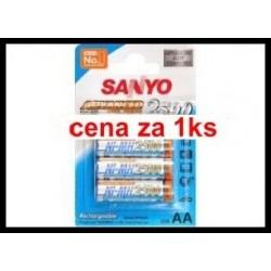 Baterie aa / r6 2500mah nimh 1,2v sanyo