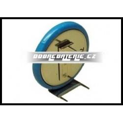 ml2430-hs1 100mah 3.0V (cena za 1 ks) s vývody 2x1 baterie vodorovně