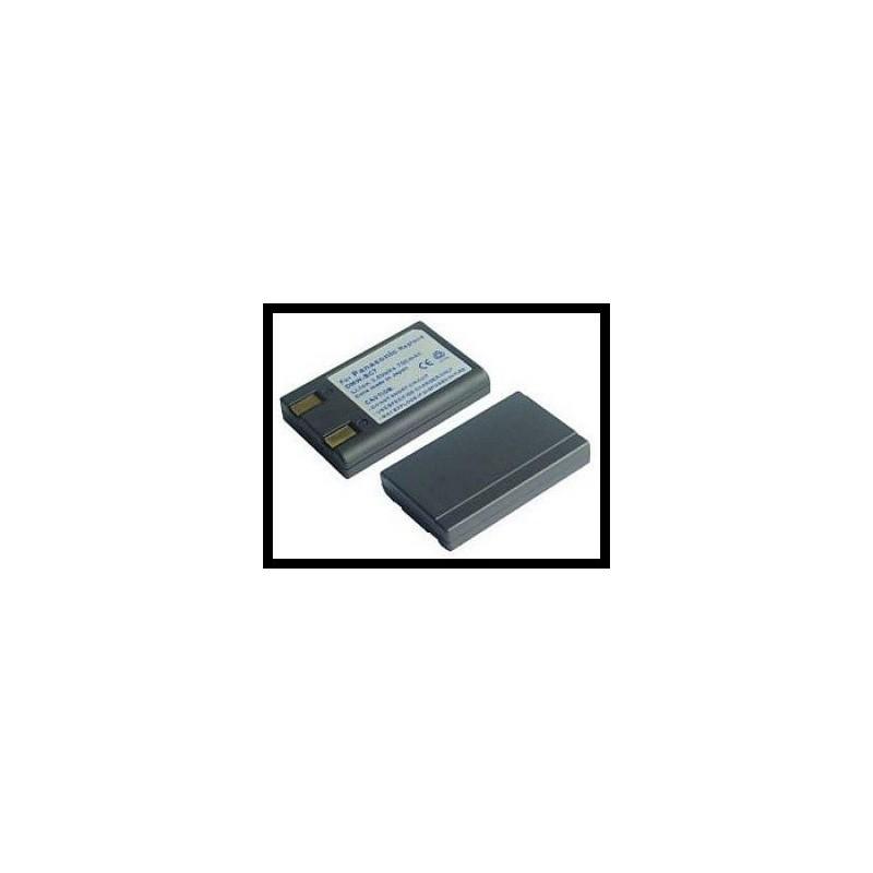Panasonic CGA-S101 / DMW-BC7 700mAh Li-Ion 3.6V