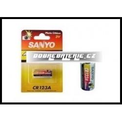cr123a sanyo 3.0V (cena za 1 ks)