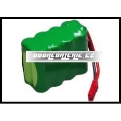 350mAh 3.4Wh NiMH 9.6V BRC007