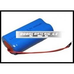L18650 1S2P 3.7V 4000mAh 14.8Wh Li-Ion + PCM