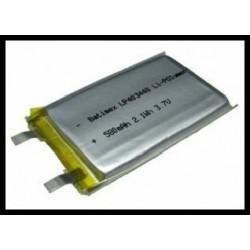 LP403448 580mAh 2.1Wh Li-Polymer 3.7V