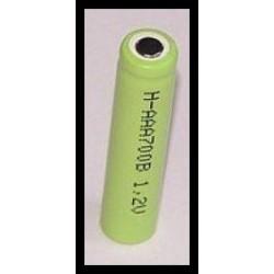 H-AAA700B 700mAh 0.8Wh NiMH 1.2V AAA O10.5x43.0mm
