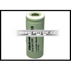 D-4/5A1200 1200mAh NiCd 1.2V 4/5A