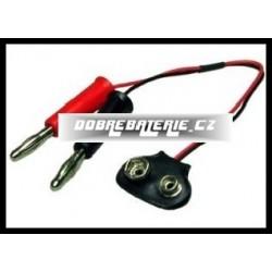 kabel na nabíjení baterií(e) 9v