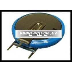 ml2430-vs1 100mah 3.0V (cena za 1 ks) s vývody 2x1 baterie svisle