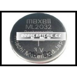 ml2032 65mah 3.0V (cena za 1 ks)