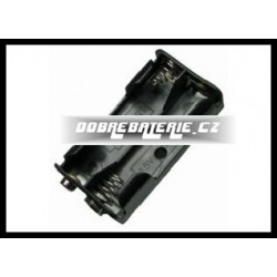 krabička 2xaa konektoru(y) jak baterie 9v