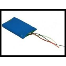 LP503759 1350mAh 5.0Wh Li-Polymer 3.7V 5.0x37.5x59.0mm + PCM