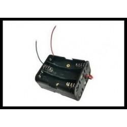 krabička 6xaa (2x3) s kabely 0.14 mm2pvc 15 cm