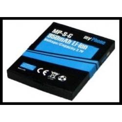 MyPhone 6670 City 950mAh 3.5Wh Li-Ion 3.7V