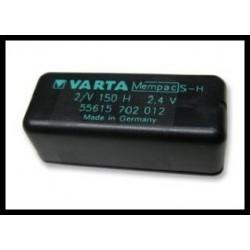 2/V150H Mempac 150mAh 0.4Wh NiMH 2.4V