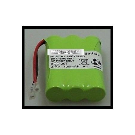 Samsung SP-R505 700mAh 2.5Wh NiMH 3.6V 3xAAA