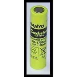KR-1700AE Sanyo 1700mAh NiCd 1.2V 4/3A