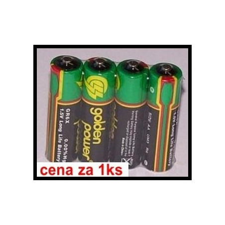 r6 golden power 1.5V (cena za 1 ks)
