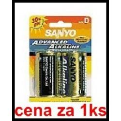 lr20 sanyo 1.5V (cena za 1 ks) (cena za 1 ks)