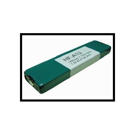 HF-A1U 1400mAh 1.7Wh NiMH 1.2V 67x17x6.2mm