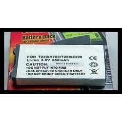 Sony Ericsson K700 / T230 / T260 / Z200 650mAh Li-Ion 3.6V