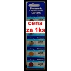 cr1216 panasonic 3.0V (cena za 1 ks) (cena za 1 ks)