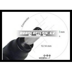 adaptér do napáječe pro notebook 5.5x2.1 mm